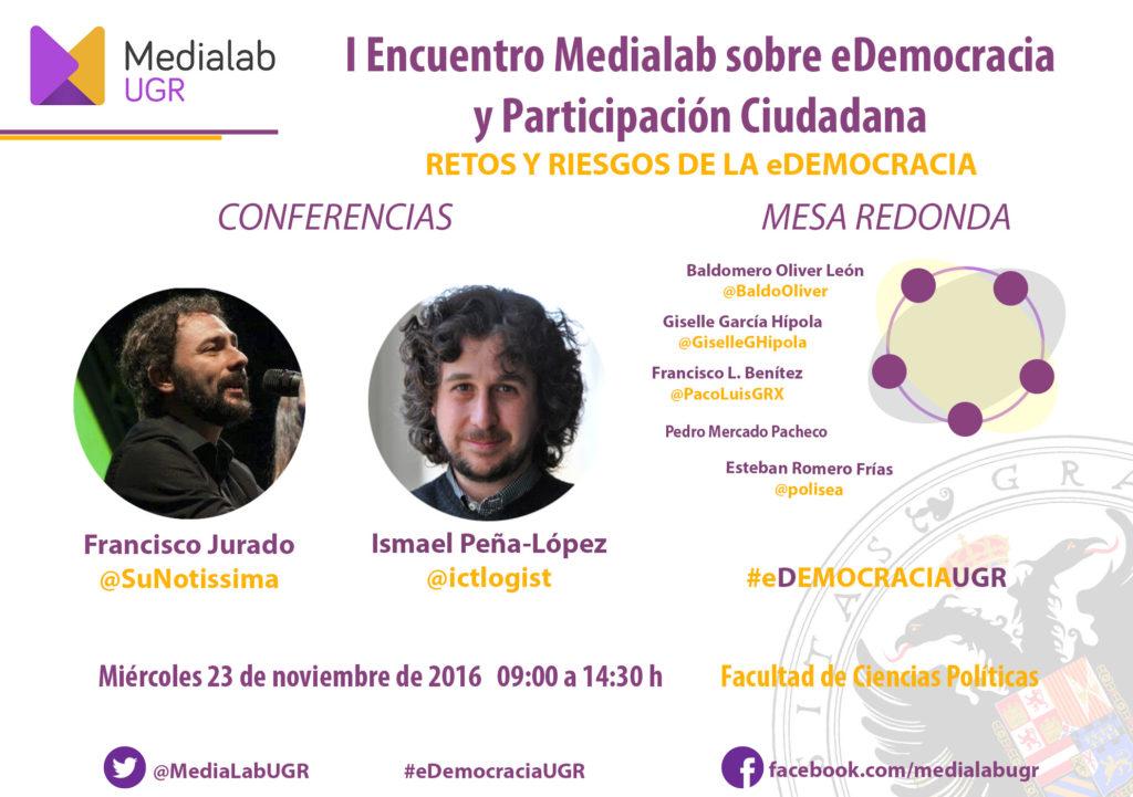 I Encuentro eDemocracia MediaLAB UGR