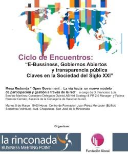 Jornadas oGov La Rinconada marzo 2013